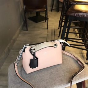 FENDI BAGmost fashionable pink tide city bag real leather