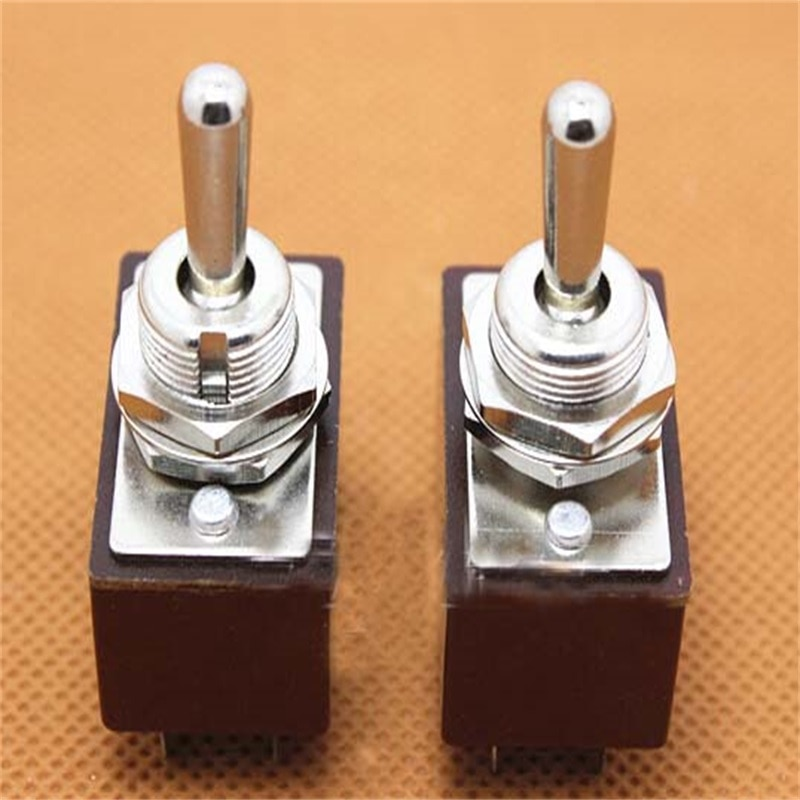 5pcs Toggle Switch KN3A2 * 2 power switch two-way switch 6 pin KN3A-202