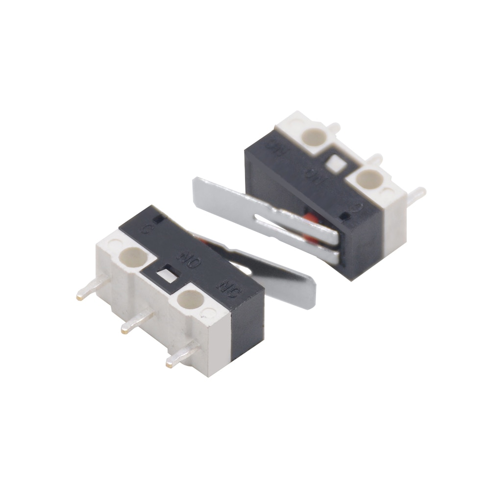 100pcs KW-1 2A Small lever micro limit switch