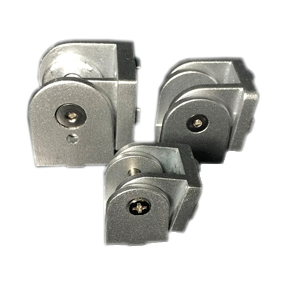 1PC 2020/3030/4040 Zinc Alloy Hinge Industrial Aluminum Adjustment Angle Connector for 20 30 40 Series Aluminum profiles