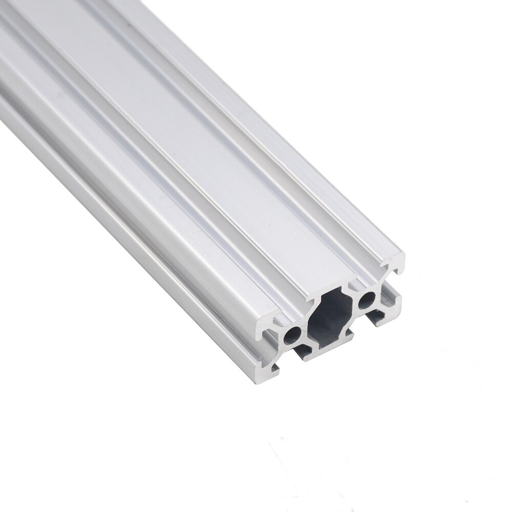 4pcs/lot 2040 European Standard Industrial Aluminum Alloy Profile 100-500mm Length Linear Rail for DIY 3D Printer CNC
