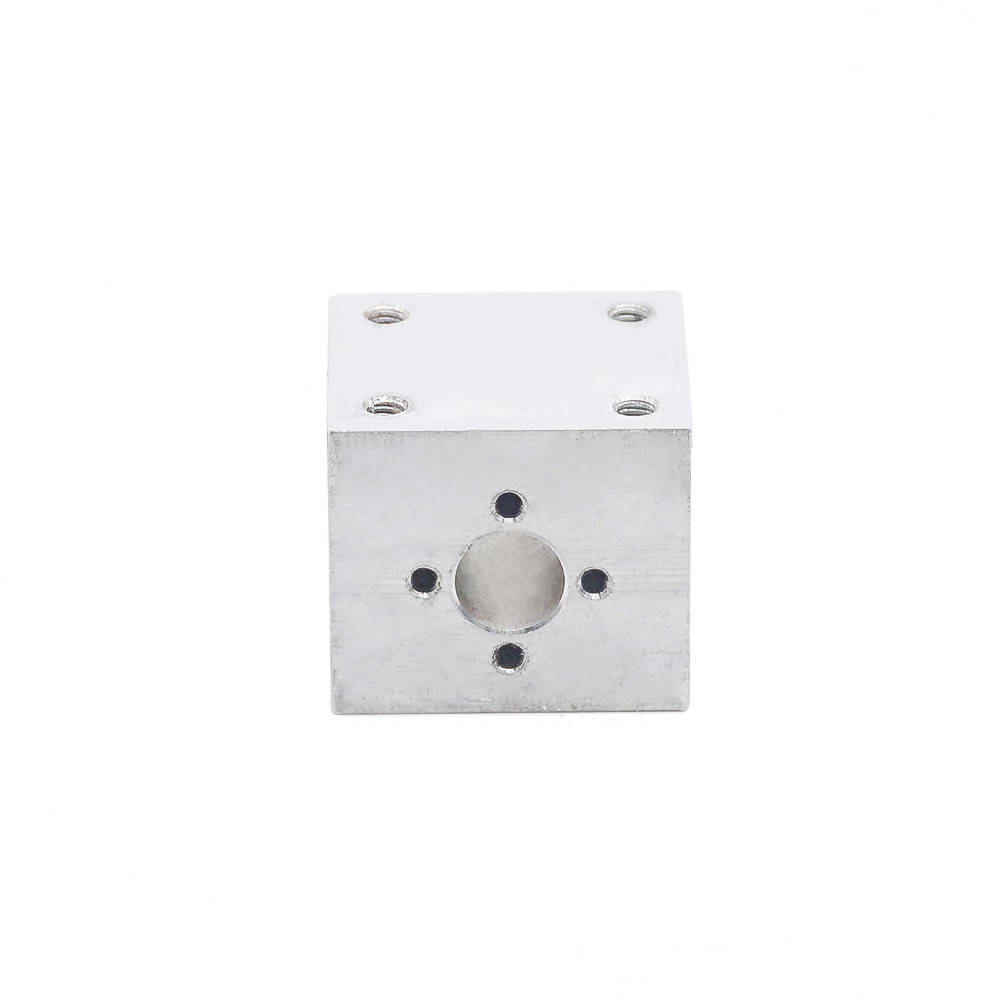 T8 Lead Screw Nut Housing Bracket For 3D Printer Parts T8 Trapezoidal Lead Screw Conversion Nut Seat Aluminum Block