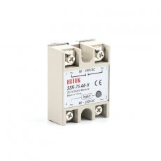 solid state relay SSR-75AA-H 75A actually 80-250V AC TO 90-480V AC SSR 75AA H relay solid state Resistance Regulator
