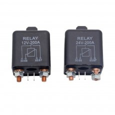 New Car Truck Motor Automotive high current relay 12V/24V 200A 2.4W Continuous type Automotive relay car relays
