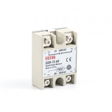 solid state relay SSR-75AA 75A actually 80-250V AC TO 24-380V AC SSR 75AA relay solid state