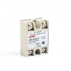 solid state relay SSR-40DA-H 40A actually 3-32V DC TO 90-480V AC SSR 40DA H relay solid state Resistance Regulator