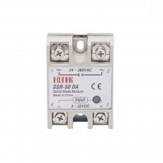 Industrial   Solid State Relay SSR 50A with Protective Flag SSR-50DA 50A DC control AC