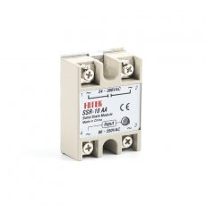 solid state relay SSR-10AA 10A actually 80-250V AC TO 24-380V AC SSR 10AA relay solid state
