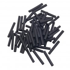 240pcs/lots 2:1 3mm Dia 30mm Long Heat Shrink Tubing Black Wire Wrap Sleeve Shrinkable Tubing