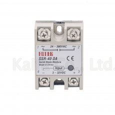 Industrial   Solid State Relay SSR 40A with Protective Flag SSR-40DA 40A DC control AC