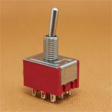 5pcs  MTS-302 Toggle Switch AC 250V 2A 9 Pins 2 Position ON/ON