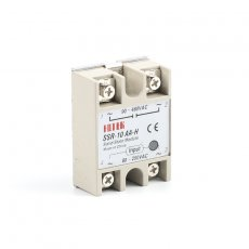 solid state relay SSR-10AA-H 10A actually 80-250V AC TO 90-480V AC SSR 10AA H relay solid state Resistance Regulator