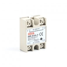solid state relay SSR-50AA-H 50A actually 80-250V AC TO 90-480V AC SSR 50AA H relay solid state Resistance Regulator
