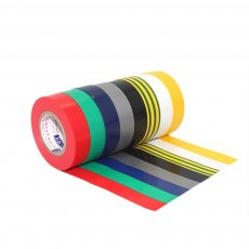 1PC 18M Electrical Insulation Adhesive Tape 10MM 15MM 18MM 30MM 45MM 50MM Width Waterproof PVC Wide High-temperature Tape