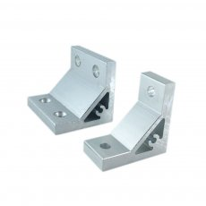 1PC 90 Degree Aluminium Angle Corner Joint Bracket for 2020 3030 4040 4545 5050 Series Aluminum Profile
