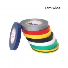 1PC 1CM Wide Electrical Tape Insulation Tape Waterproof PVC Electrical tape 18M Long High-temperature Tape