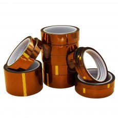 1PC 33M Length Heat Resistant Polyimide Tape High Temperature Adhesive Insulation Kapton Tape 5MM 10MM 15MM 20MM 25MM Width