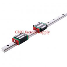 3D print parts CNC machine linear rail slide HGH25mm 25mm  1pcs 25mm L-300mm + 1 pcs HGH25HA carriage