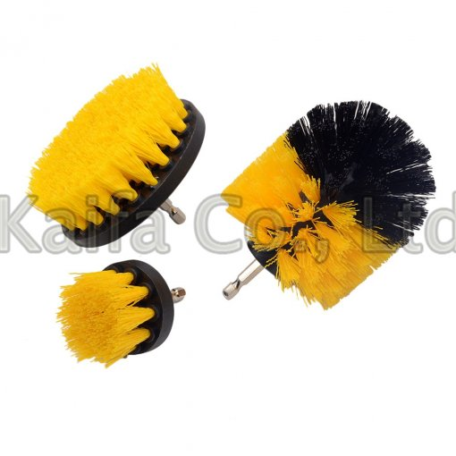 3PCS Power Scrubber Brush Set For Bathroom Drill Scrubber Brush  Cleaning Cordless Drill Attachment Kit Power Scrub Brush