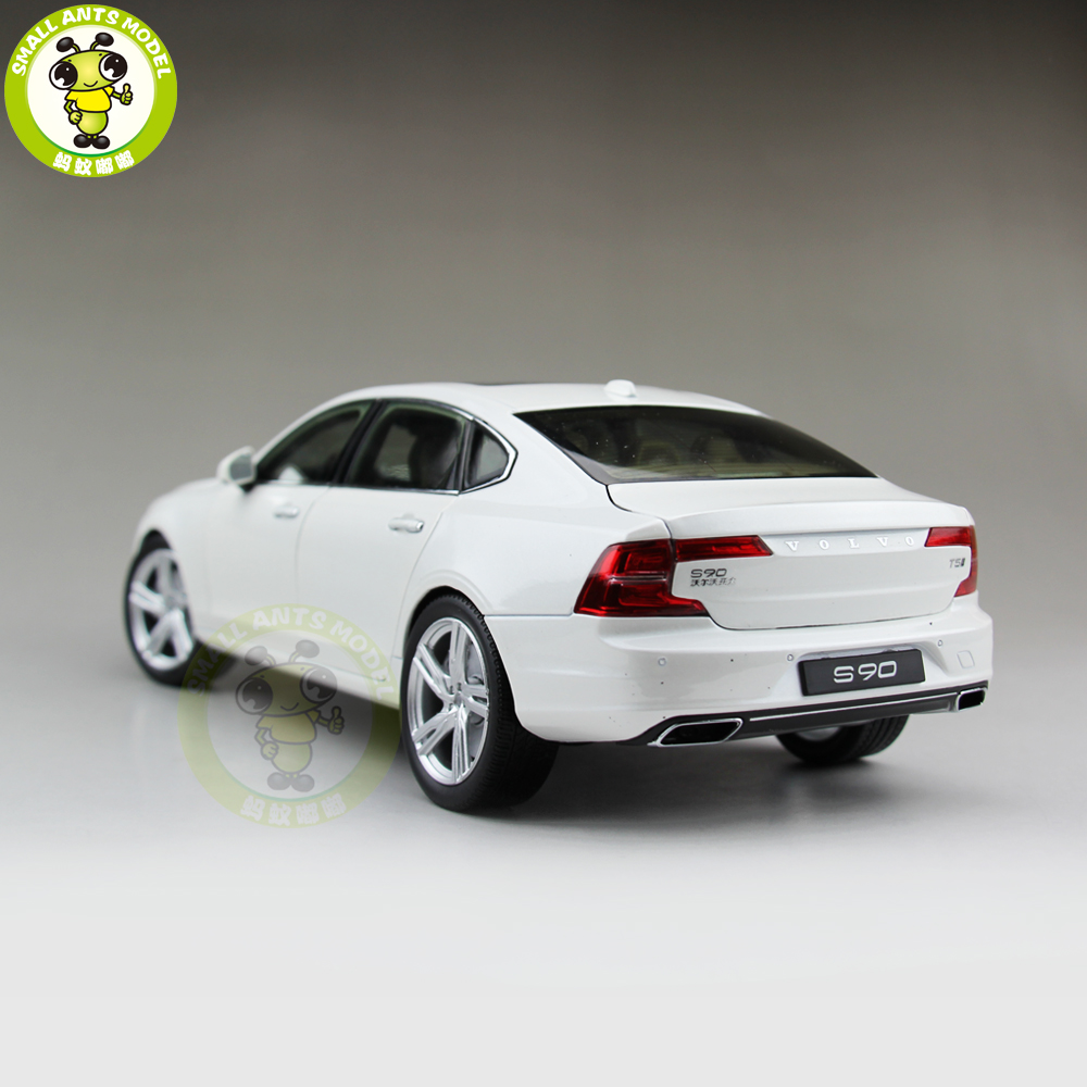 1//18 Volvo S90 T5 Diecast Model Car Toys Boys Girls Gifts White