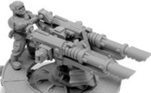 IMPERIAL GUARD SABRE DEFENCE PLATFORM WITH LASCANNON