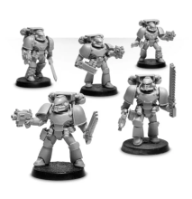 MK IV SPACE MARINE ASSAULT SQUAD