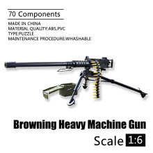 1:6 Browning M2 Heavy Machine Gun 4D 1/6 Scale Gun Model US Army Flexible Weapon Toys for Soldier Action Figure Accesssories