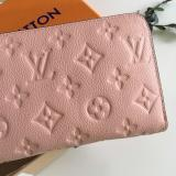 LOUIS VUITTON  ルイ・ヴィトン ジッピー・ウォレット 財布 ピンク Zippy M60571