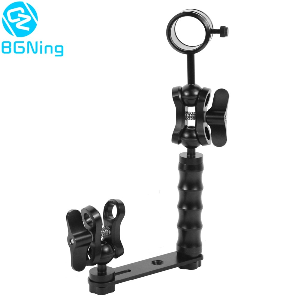 Diving Lights Ball Butterfly Clip Arm Clamp Mount for Action Camera Parts Accessories Oumij Camera Mount Clamp