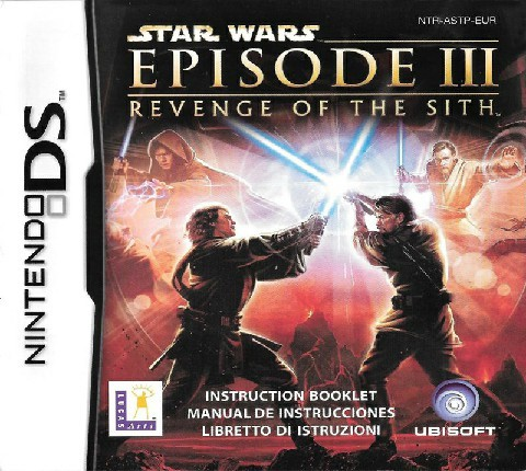 Nintendo Ds Nds Video Game Cartridge Game Card Star Wars Episode Iii Revenge Of The Sith Eur Version For Nds 3ds Ndsl