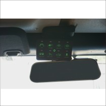 8 Switch Programmable Control System for Jeep Wrangler JK Green Backlight