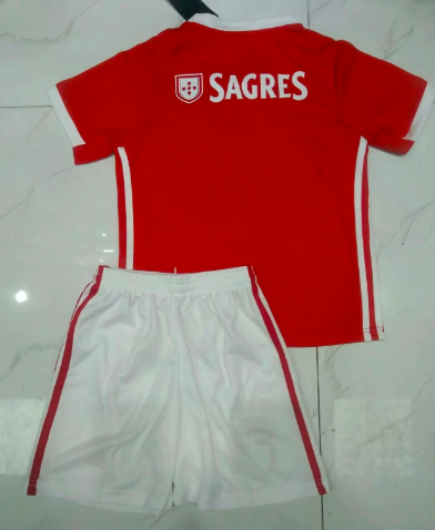 Benfica 19/20 Kids Home Soccer Jersey and Short Kit