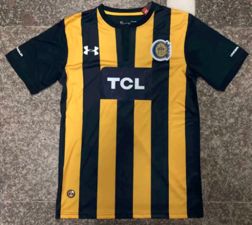 Thai Version Rosario Central 19/20 Home Soccer Jersey