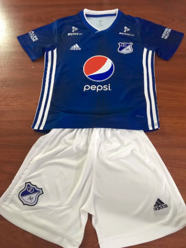 Millionaire 19/20 Kids Home Soccer Jersey and Short Kit