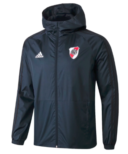 River Plate 19/20 Windbreaker - Dark Gray