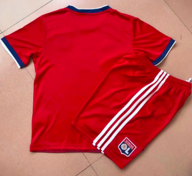 Olympique Lyonnais 19/20 Kids Soccer Jersey and Short Kit