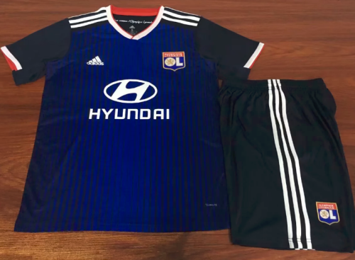 Olympique Lyonnais 19/20 Away Soccer Jersey and Short Kit