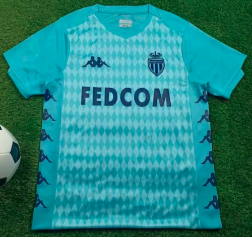 Thai Version AS Monaco 19/20 Soccer Jersey - 002