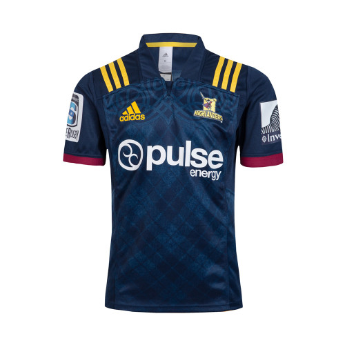 Highlanders 2018 Men's Home Super Rugby Jersey
