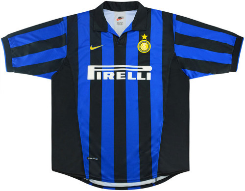 Inter Milan 1998/1999 Retro Home Soccer Jersey