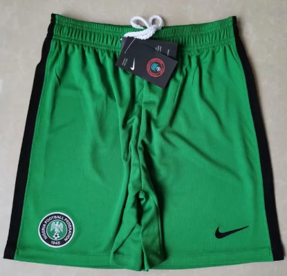 Thai Version Nigeria 2020 Home Soccer Shorts