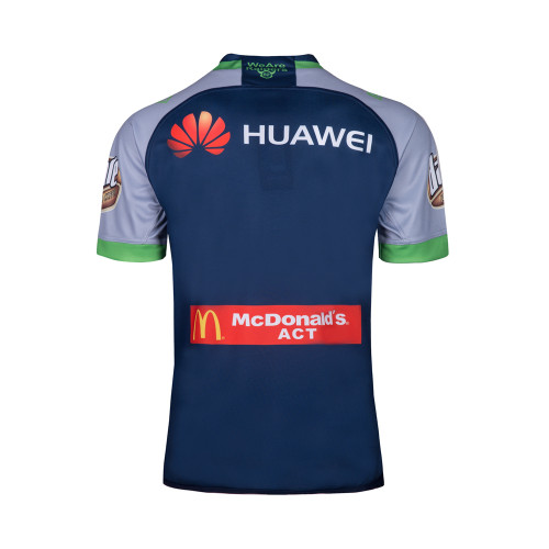 Canberra Raiders 2018 Men's Away Rugby Jersey