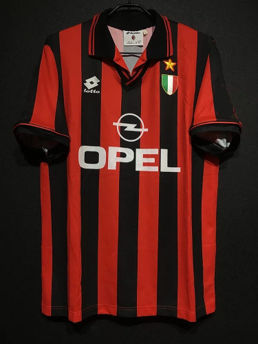 AC Milan 1996-97 Home Retro Player Jersey