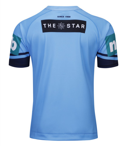 NSW Blues 2019 Men's Home Rugby Jersey