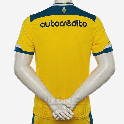 Thai Version Rosario Central 20/21 Away Soccer Jersey
