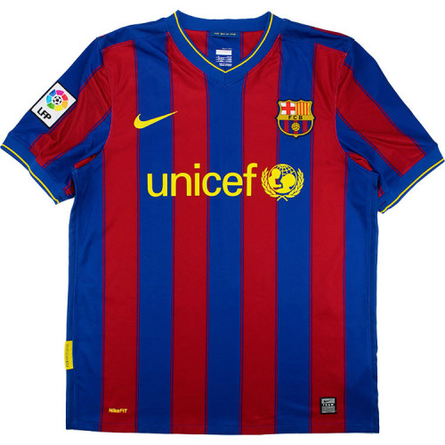 Barcelona 2009/2010 Messi Home Retro Jersey