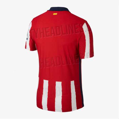 Thai Version Atletico Madrid 20/21 Home Soccer Jersey