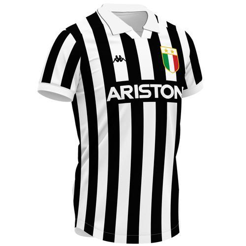 Juventus 1984-85 Rossi Home Retro Soccer Jersey