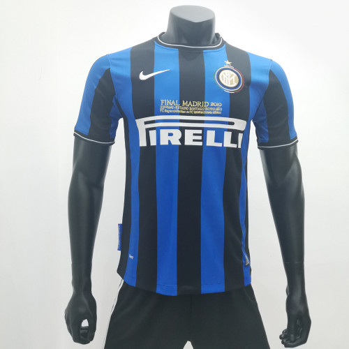 Inter Milan 2009/2010 Home Retro Soccer Jerseys