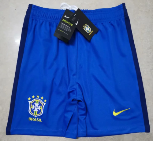 Thai Version Brazil 2020 Away Soccer Shorts